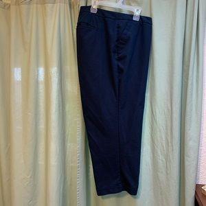 Lane Bryant Cropped Dress Slacks